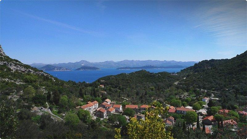 Méleda è una delle più verdi tra le isole dell'Adriatico croato