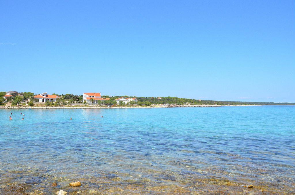 Croazia mappa isole. Isola di Silba. Ha un clima mediterraneo con 2570 ore all'anno di sole.