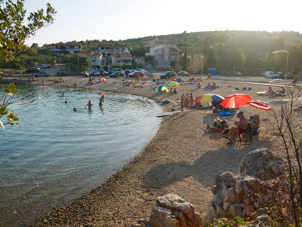 Migliori posti Croazia. Ugljan (Ugliano) è un'isola croata e la prima nell'Arcipelago di Zara.