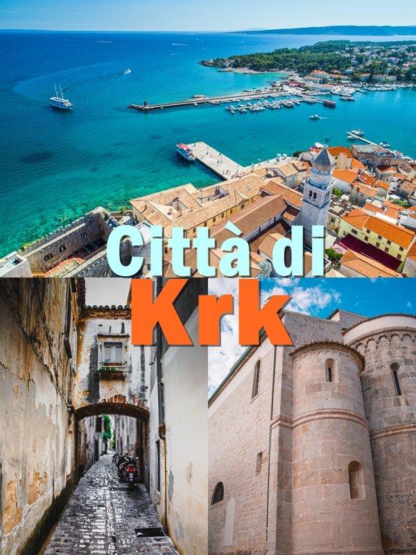 Il cuore di Krk è una bellissima cittadina murata, piena di stretti vicoli, anche se molti sono ora abitati da negozi che vendono magliette