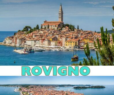 Situata sulla costa occidentale dell'Istria, Rovigno è oggi una delle località turistiche più sviluppate della Croazia.